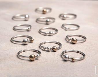 Spheres Small Rings