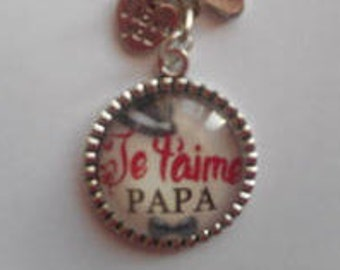 """Door keys/Dad / """"I love you Dad"""" / / birthday/party fathers/thanks/Christmas gift"""