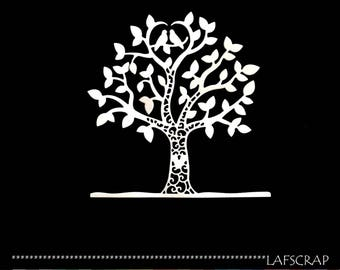 1 cut out tree heart doves wedding wedding cut paper decoration die cut embellishment scrapbooking
