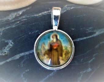 1 Daum 26.5 mm religious medal pendant