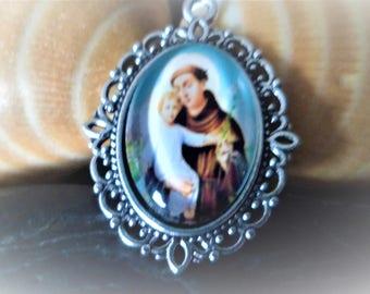 1 pendant medal Christian 29 mm