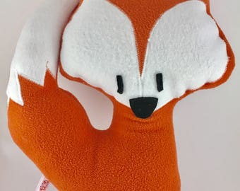 Leo child blanket Red Fox plush child