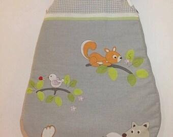 Sleeping bag - Baby sleeping bag - fall-winter - size 0-3 months