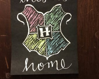 """Hogwarts Crest - """"This is Home"""""""