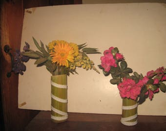 Max's Bamboo Lighthouse Vases!