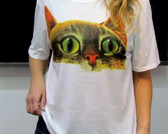 Polera Gato / Cat Comic T-Shirt