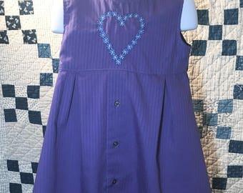 Purple dress size 4T