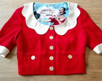 MOSCHINO BLOUSE VINTAGE to fall in love