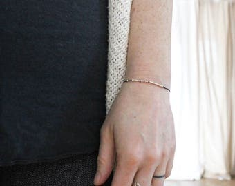 WILD + FREE ||. .. .|.. |.. ..|. .|. . . Morse Code Bracelet in Sterling Silver - Adventure Waits for Not All Who Wander Are Lost