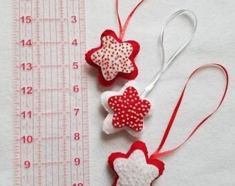 Christmas Ornaments (Set of 3 Stars)
