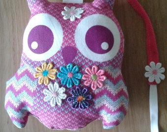 Owl bunting (padded)