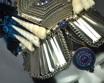 Eye Spy, Illuminated Queen, Crown/Tiara festival wedding bridal fantasy hair accessories headband