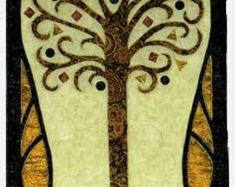 Designs to Share with You - Tree of Life - quilt pattern - wall hanging - DSY145