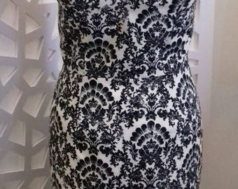 Baroque print sexy dress size 40
