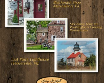 Beautiful Historic Building Note Cards