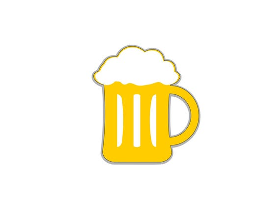 Super Boccale di birra PNG SVG DXF da MDsvgdesign su Etsy Studio IN37