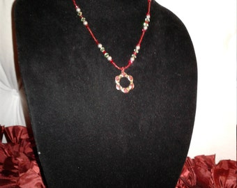 SWAROVSKI crystals and pearls