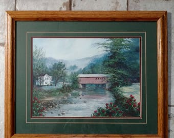 River Crossing by Burton Dye