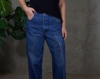 vintage ann taylor knit / vintage silk blouse / silk knit top / minimal knit top / us m / xs / s / m