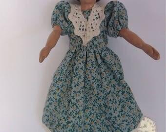Delightful wooden Hitty type doll