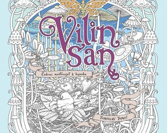 Vilin San (Fairy's Dream) - Coloring book by Tomislav Tomić (Back-Order)