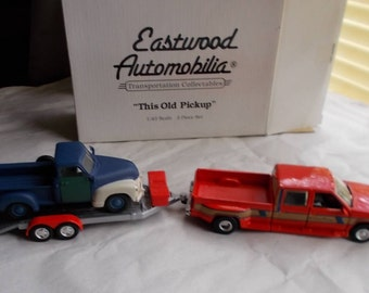 """Eastwood Automobilia """"This Old Pickup"""" 1/43 3 Piece Set"""