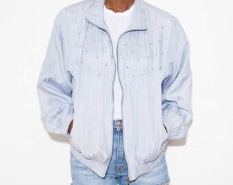 90s Windbreaker, Silk Bomber Jacket, Vintage Windbreaker, Zip Up Jacket, Bomber Jackets, Early 90s, Windbreaker, 90s Jacket, 90s Clothing