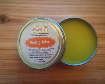 Healing Salve/Herbal Salve/Healing Balm/Hand Salve