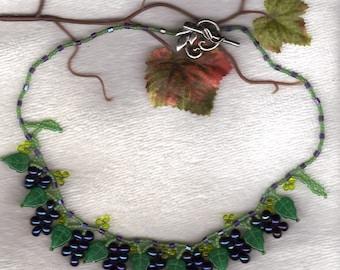 grape vine necklace