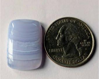 23.21 x 15.85mm,Octogen Shape Blue Lace Agate Cabochon/Attractive Blue Lace Agate/wire wrap stone//Pendant Cabochon/SemiPrecious Gemstone