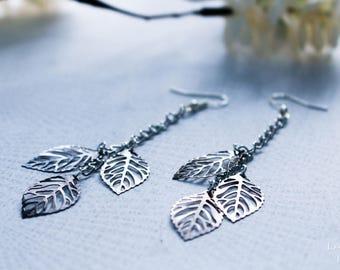 Autumn Leaves - Dangle & Drop Earrings