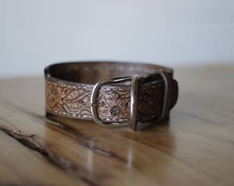 Leather Customized Animal Collar-Holiday for Pets-Gifts for Her-Christmas Idea-Pet Gift-Leather Gift-Handmade-Dog-Cat