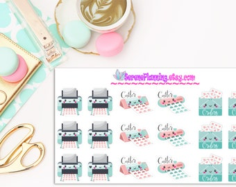 Shop Owner Planner Stickers