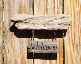 Driftwood Home Decor Sign