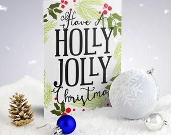 Christmas Cards & Sets - Holly Jolly Christmas