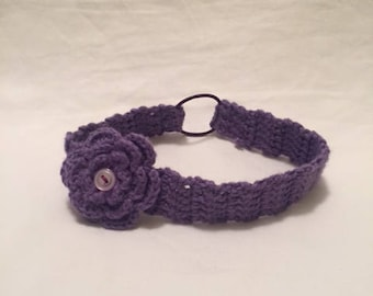 Crochet Baby Headband- 6-12 months, available in many colors