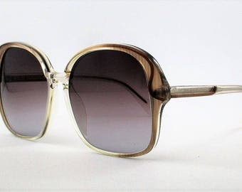 Original vintage Sunglasses Neostyle Mod.Cosmet Col. Trasparent brown