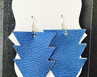 Geometric Lightning Bolt Earrings