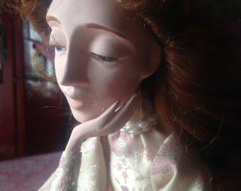 Emilia handmade art doll Laisves dolls