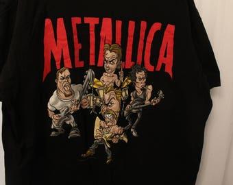 Vintage 1996 Double Sided Metallica Tour Tee - XL