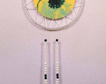 Green Flower Dreamcatcher