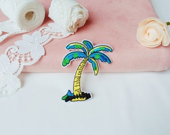 coconut tree patch/plant patch/iron on patch/sew on patch/patch for jacket ,backpack