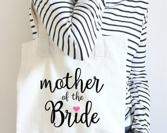 Mother Of The Bride Tote, Mother Of The Bride Tote Bag, Mother Of the Bride Gift, Custom Mother Of The Bride Bag, Gift For Mother Of Bride