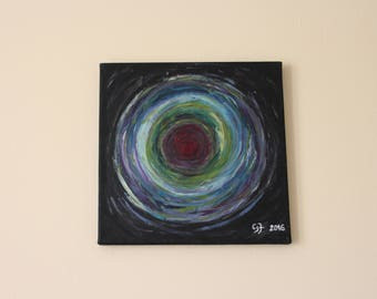 oil painting ' Vita ' 30 x 30 cm on canvas