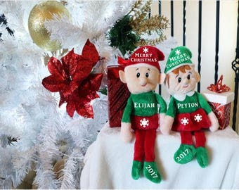 Christmas Elf (Personalize)