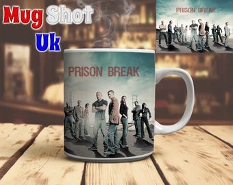 Prison Break Style Coffee Mug