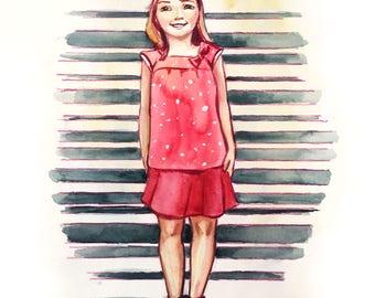CUSTOM Children Illustration