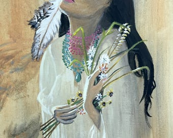 Native American painting