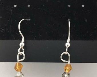 Tigers eye earrings
