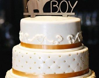 Elephant Cake Topper   Etsy